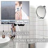 Fogless Shave Mirror for Shower Bathroom Shaving