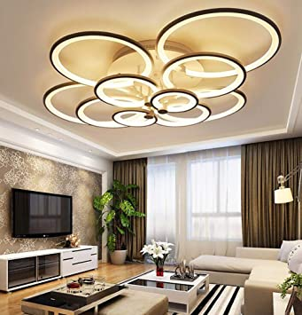 REEP Lámpara De Techo, Plafones LED 120W Creativa Moderna ...