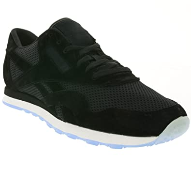 08e8507d577 Reebok CL Nylon Tech Black White-Ice  Amazon.de  Schuhe   Handtaschen