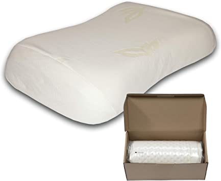 EARTH MIRACLE Natural Soft Latex Pillow for Sleeping Standard