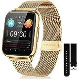 Reloj inteligente para teléfonos Android de 1,7 pulgadas, pantalla táctil, impermeable, monitor de actividad física, frecuenc