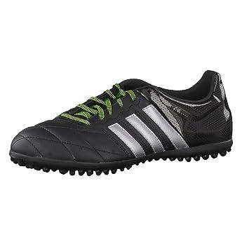 adidas Herren Fussballschuhe ACE 15.3 TF Leder core black