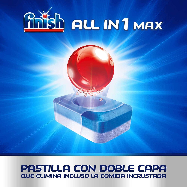 Finish Todo en 1 Max Limón Pastillas para Lavavajillas - 35 ...