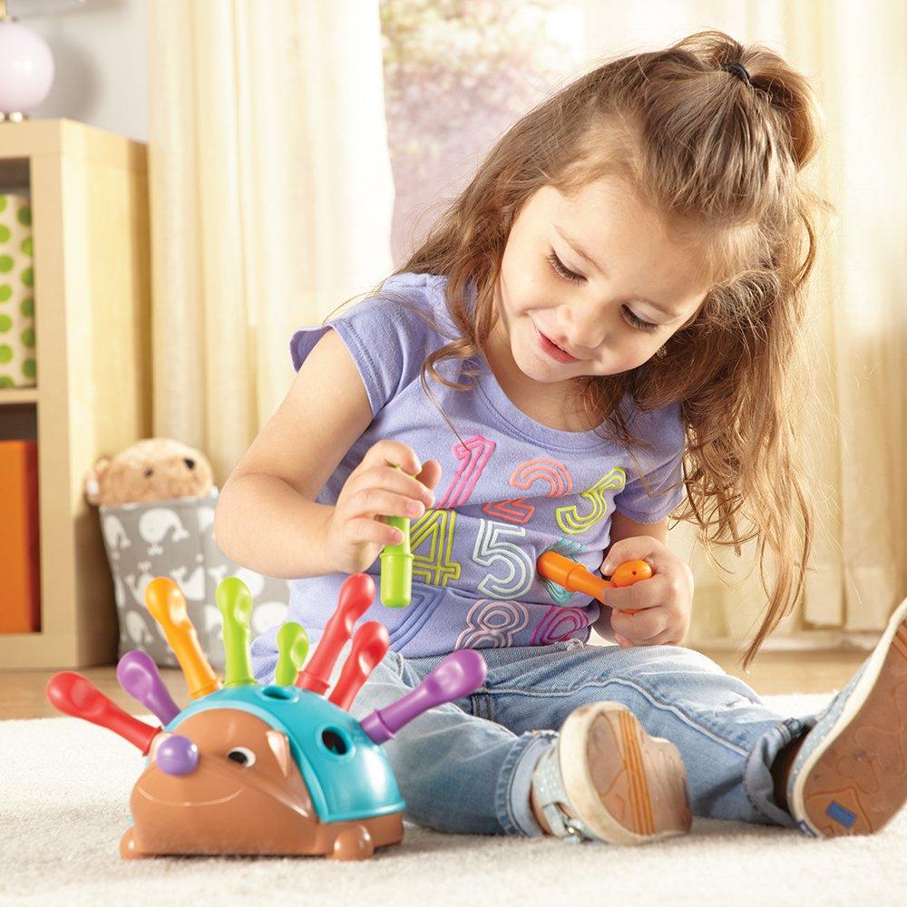 Learning Resources Spike The Fine Motor Hedgehog Sensory Fine Motor Toy Ages 2