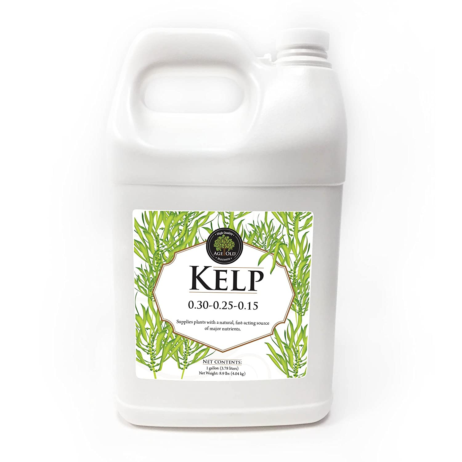 Age Old Organics Liquid Kelp 0-30-0.25-0.25 Fertilizer, 1 Gallon