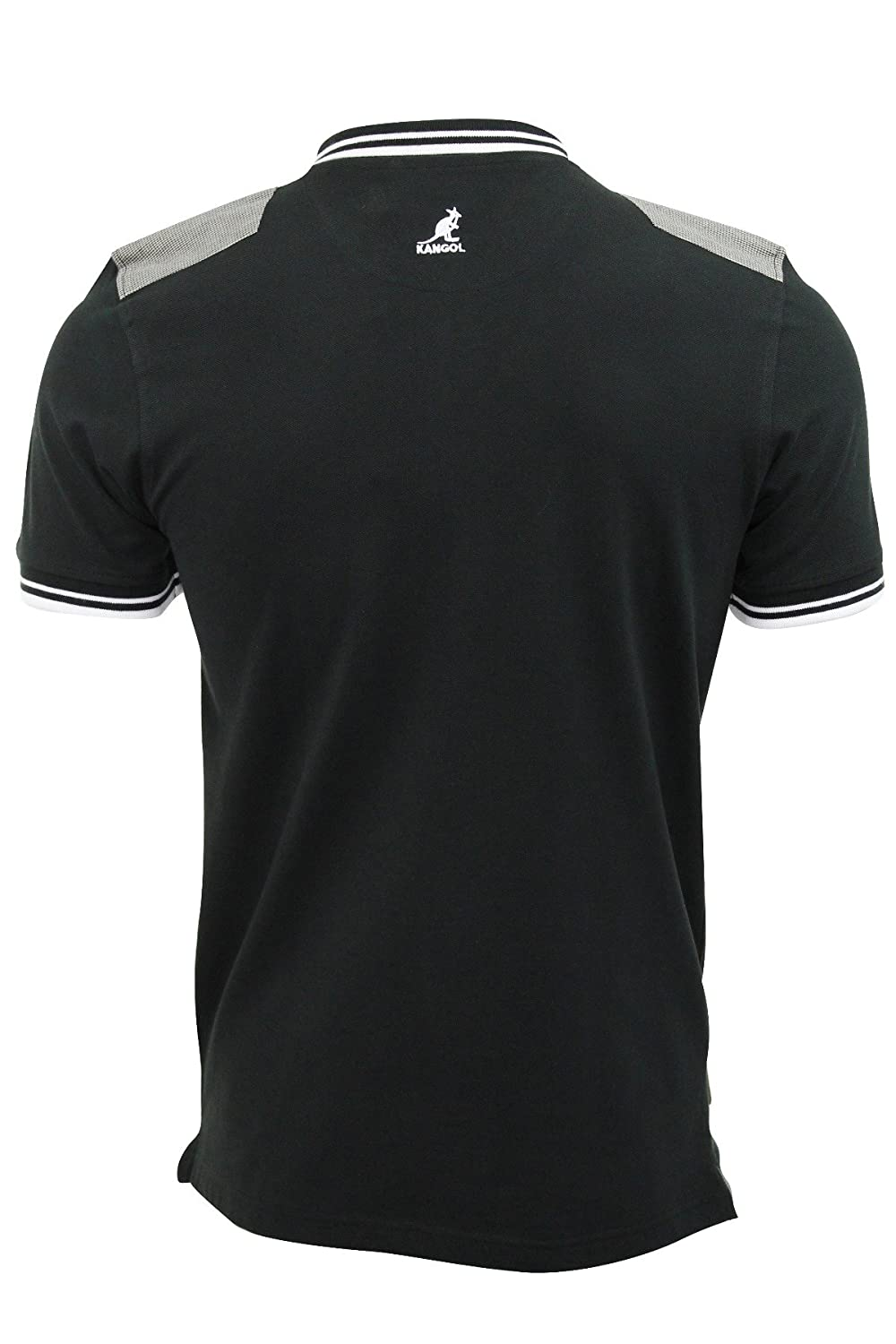 Kangol - Polo - para Hombre Winch (Black) Small: Amazon.es: Ropa y ...