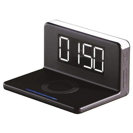 Daewoo - Cargador inalámbrico con Luces LED | Reloj ...