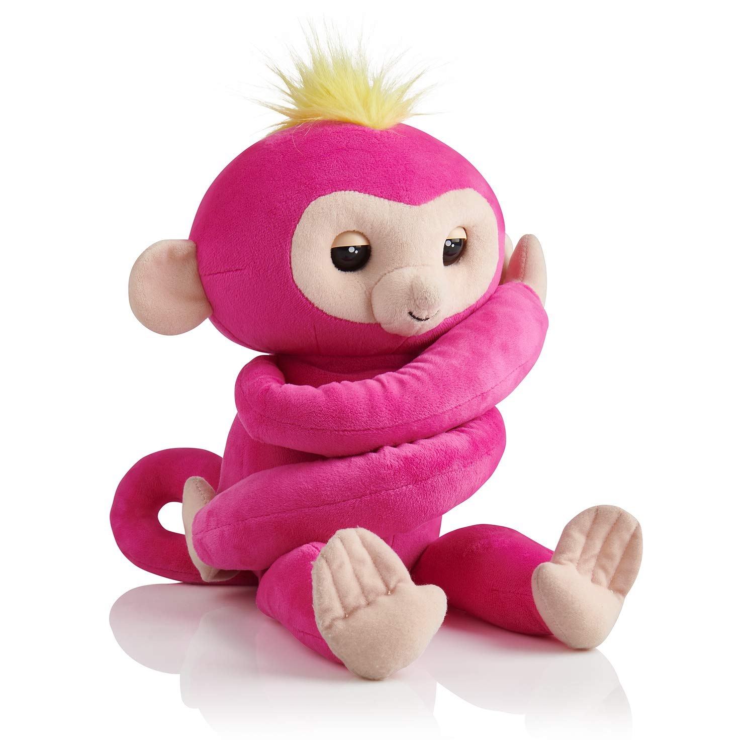 Fingerlings HUGS - BELLA - Friendly Interactive Plush Monkey Toy - by WowWee JAZWARES 3532