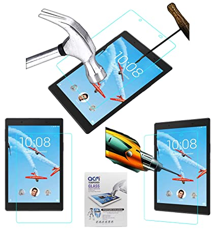 ACM Tempered Glass Screenguard for Lenovo Tab 4 8 Tb 8504x Tablet Screen Guard Screen Protectors