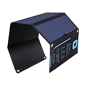 BigBlue - Cargador Solar de 3 Puertos USB de 28...