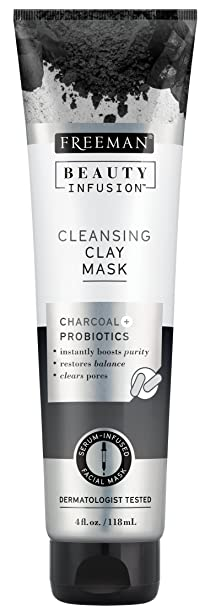 Freeman Beauty Infusion Mask Cleansing Clay 4 Ounce (Probiotic) (118ml) by Freeman