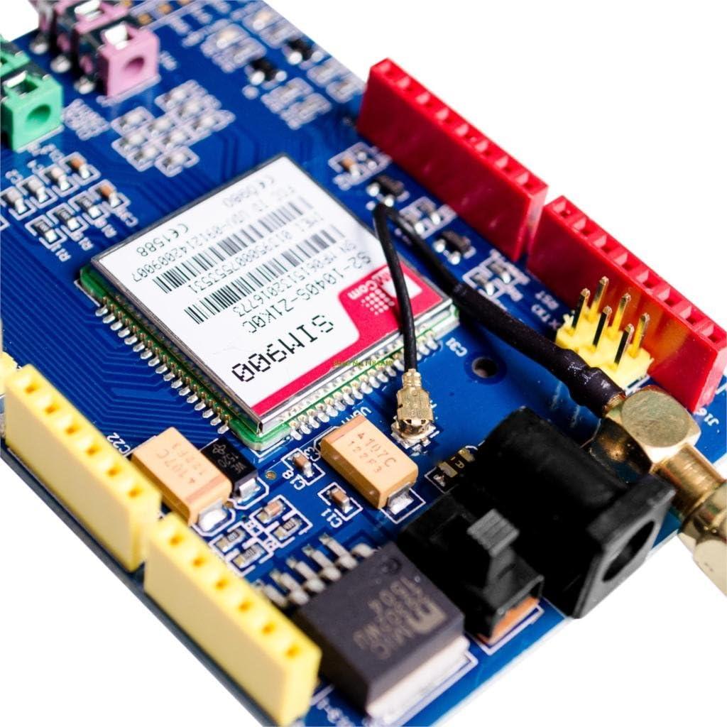 TECNOIOT SIM900 GPRS//gsm Shield Development Board Quad-Band Module with Antenna