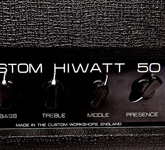 Hiwatt DR504 Custom 50 serie Custom Shop Head-Cabezal amplificador de guitarra Hiwatt UK: Amazon.es: Instrumentos musicales
