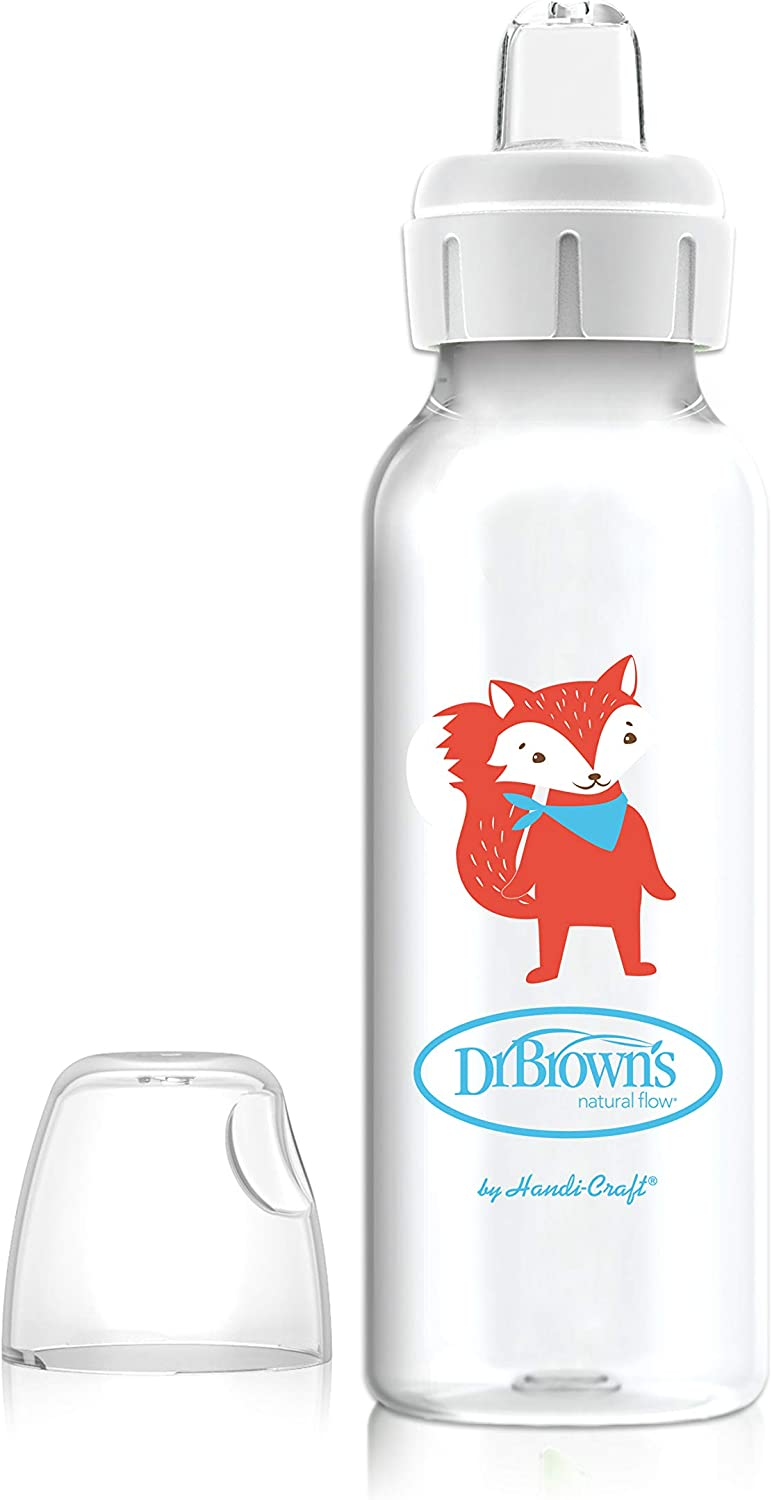 Browns Sippy Spout Baby Bottle Bunny Dr