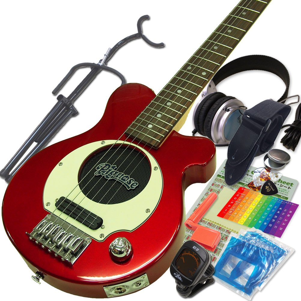 素敵な Pignose ピグノーズ CA PGG-200 PGG-200 CA キャンディアップル Pignose アンプ内蔵ミニギター15点セット [98765]【検品後発送で安心】 CA キャンディアップルレッド B0135WTZ8C, みえけん:dd01375c --- suprjadki.eu