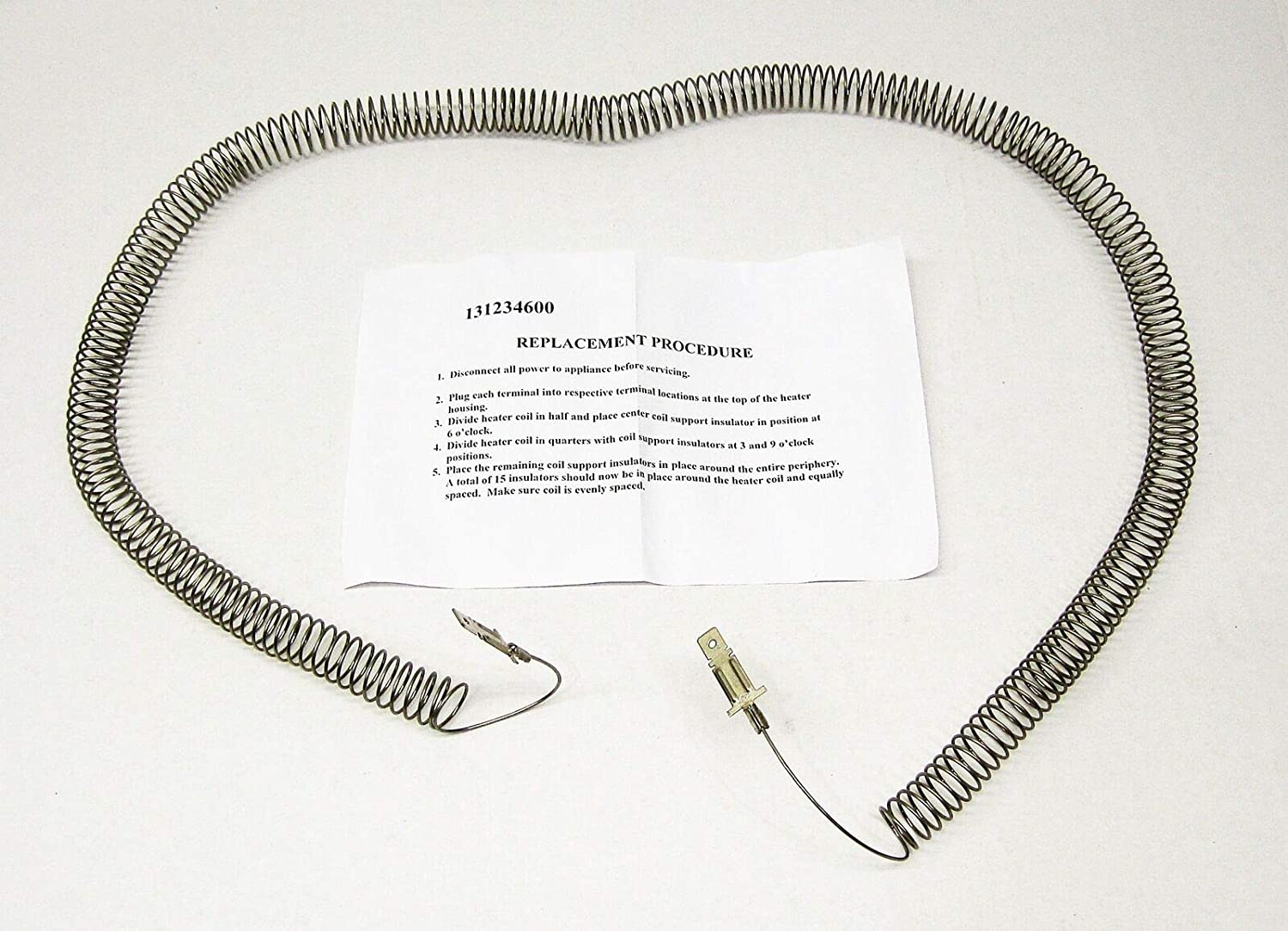 New Dryer Heating Element Restring 131234600 for Frigidaire 131475320 131475300