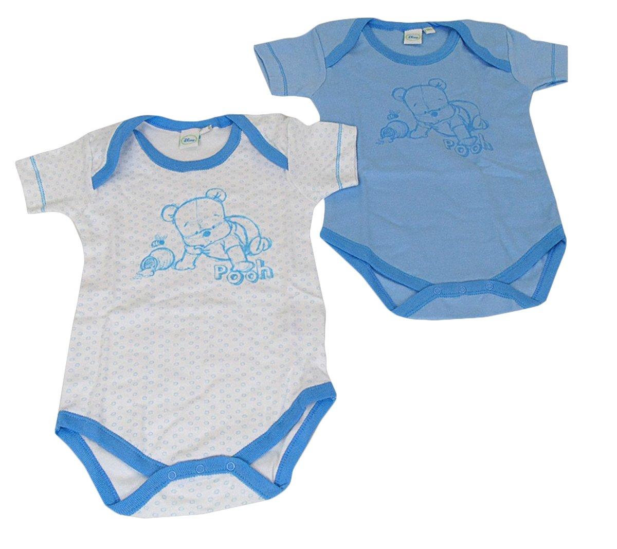 2 body neonato maschietto in caldo cotone Winnie The Pooh mezza manica