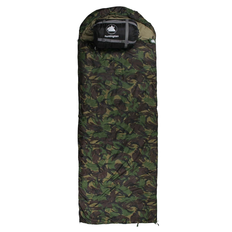 10T Outdoor Equipment Huntington Saco de dormir de manta, Verde, Estándar 762227 1061762227_grün_220x80 cm