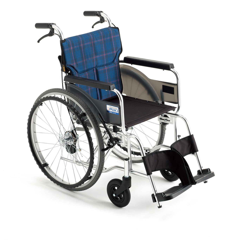 MiKi(ミキ)アルミ製車椅子 BAL-7SP B00KLNWS9C