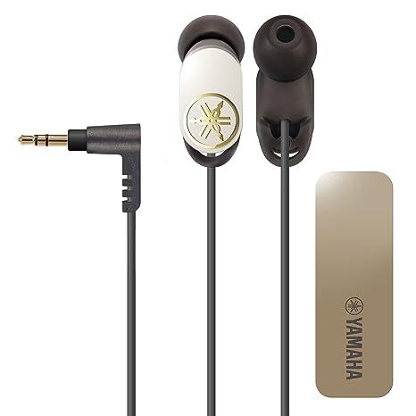 Yamaha EPH-W22 - Auriculares in-ear, negro y blanco