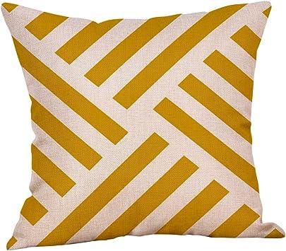 Polyester Housse De Coussin Taie d/'oreiller Home Decorative Oreillers Housse pour canapé