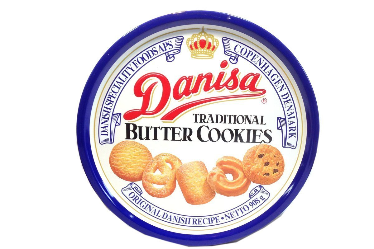 Danisa Traditional Butter Cookies, 16 Ounce (Pack of 12)