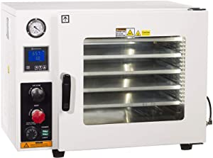 Ai Vacuum 1.9 CF Vacuum Oven with 5-Sided Heating & Stainless-Steel Internal Vacuum Lines UL/CSA Certified