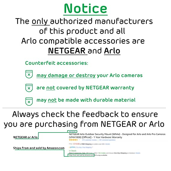 Arlo Pro by NETGEAR Add-on Security Camera – Add-on Rechargeable Wire-Free  HD Camera with Audio, Indoor/Outdoor, Night Vision (VMC4030) [Existing