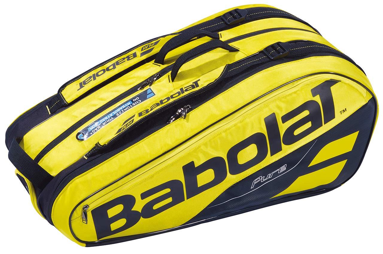Babolat 2019 PURE AERO 9 RACKET BAG - YELLOW/BLACK