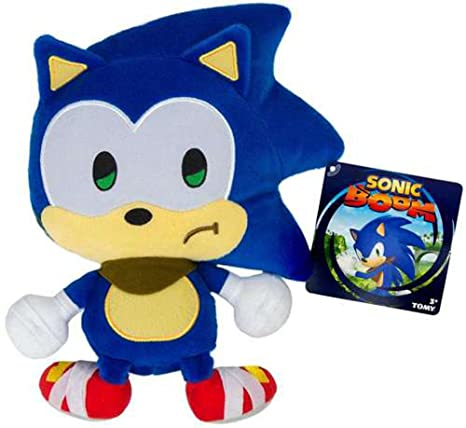 Sonic The Hedgehog Sonic Boom Emoji Sonic 8-Inch Plush [Sad]