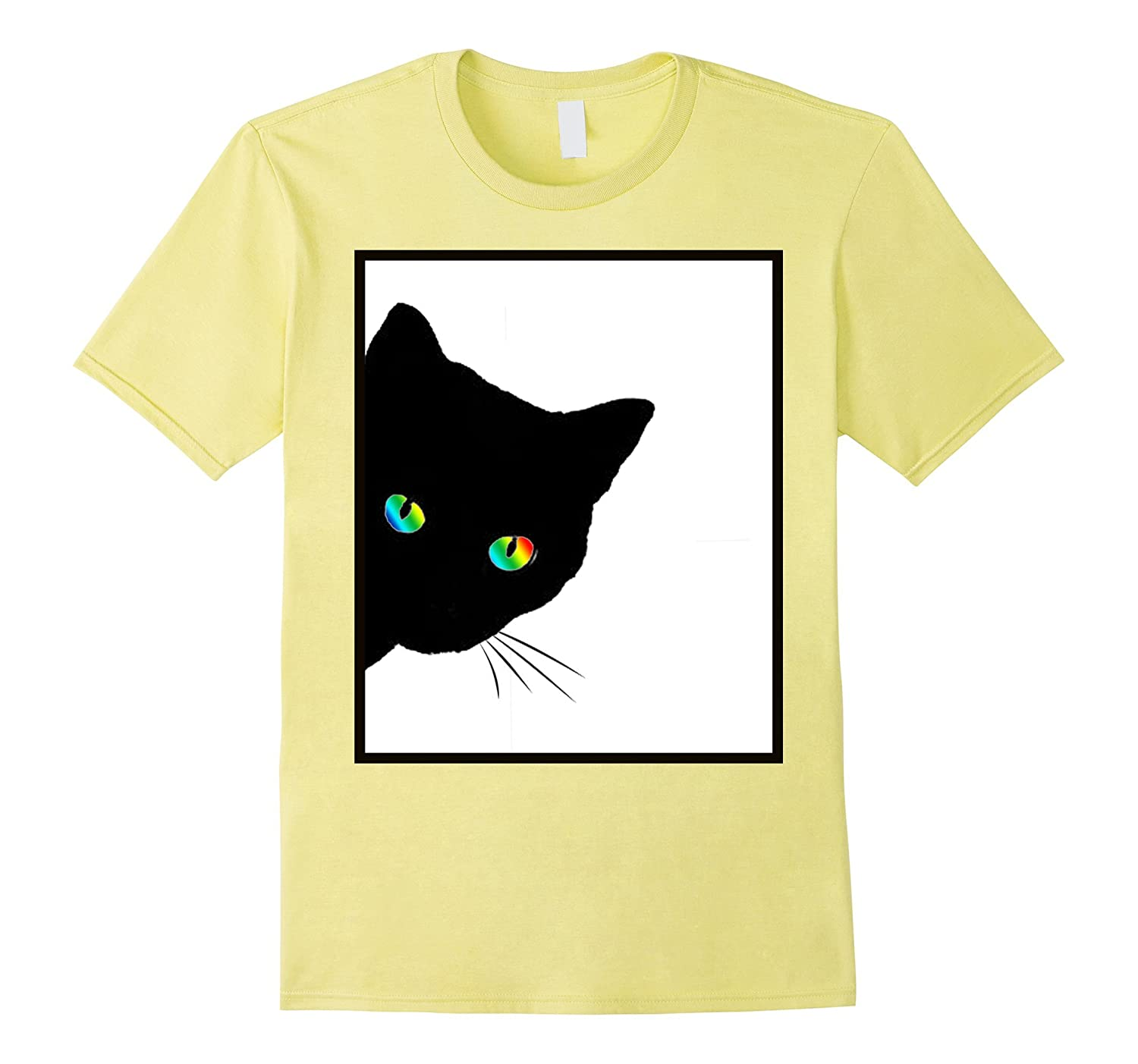 Cat Rainbow Eyes Tshirt Designed By Cats Made Better