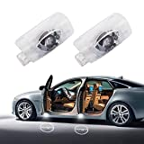 EastFly Lexus Projector Door Lights for LS ES IS LX RX GS GX, Laser Projector Ghost Shadow Lights, LED Welcome Light, Courtesy Lexus Emblem Lamp Bulbs Easy Installation