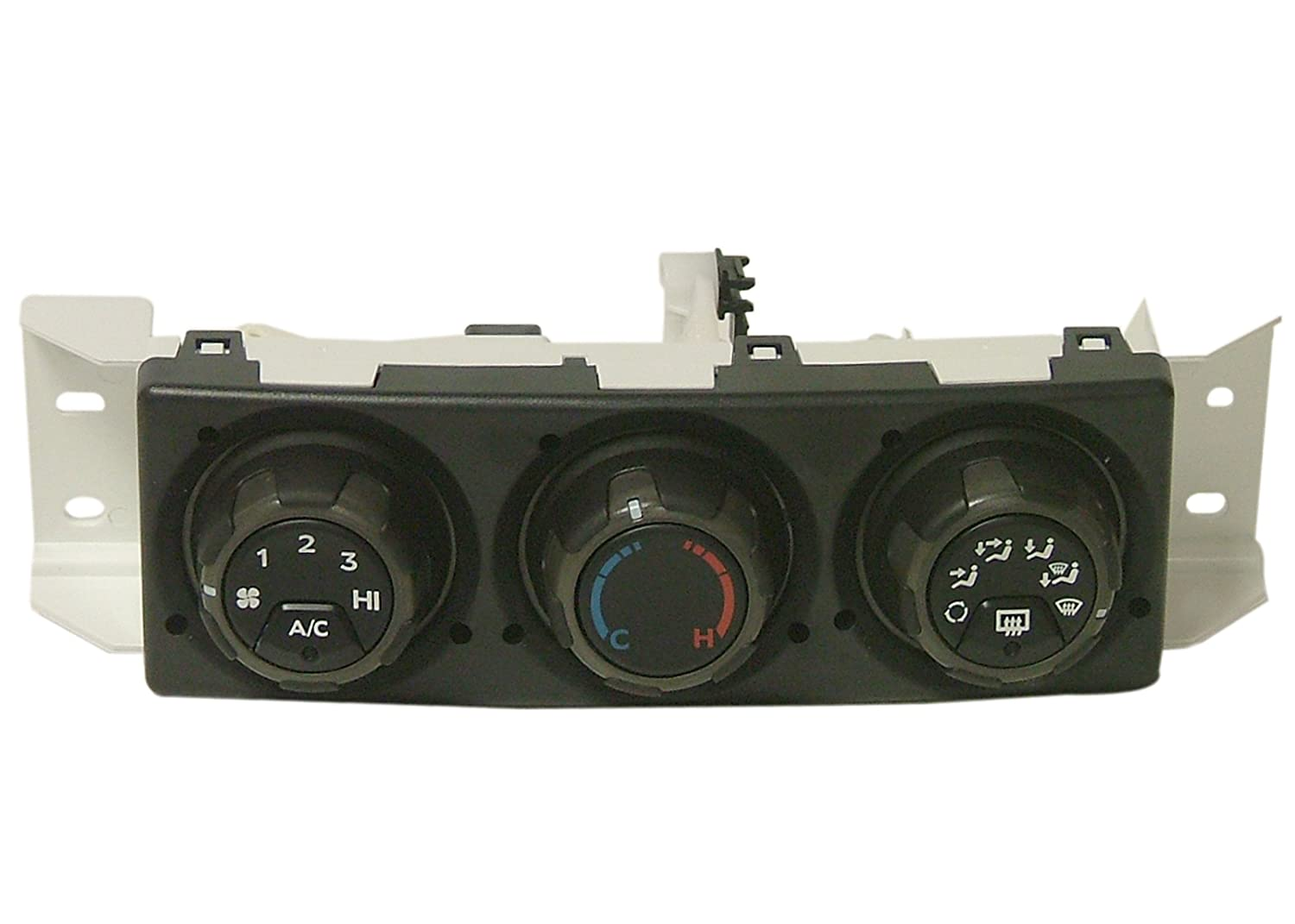 ACDelco 15-73328 GM Original Equipment Black Heating and Air Conditioning Control with Rear Window Defogger Switch