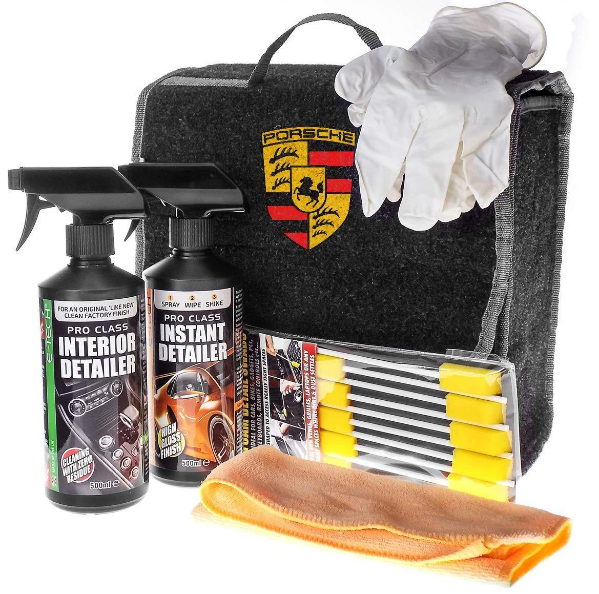 Beetleink Porsche Professionnel Dé tails kit kit de Nettoyage avec Serviteur de Coffre Beetle-Ink Limited