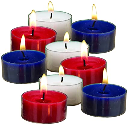 Amazoncom Biedermann Sons Red White And Blue Citronella
