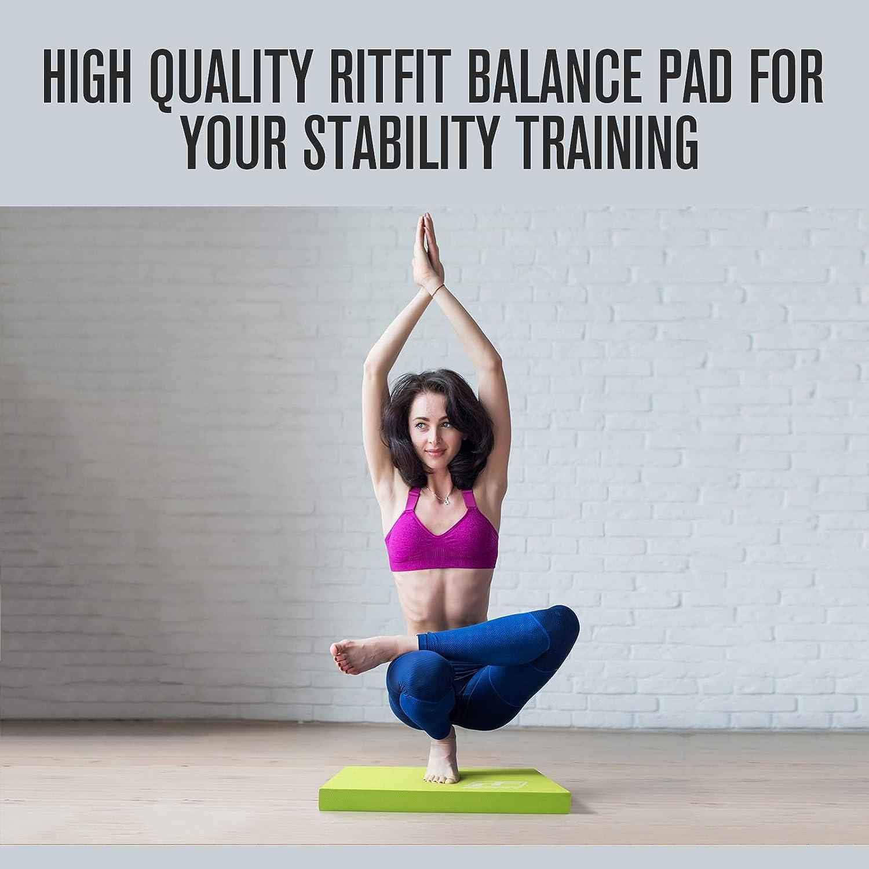 Amazon.com: RitFit - Almohadilla de espuma de equilibrio ...