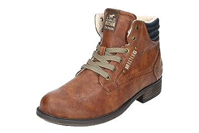 Mustang Stiefel cognac Herren Schuhe Synthetik Herbst Winter