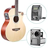 Zorbes Guitar Driver LC-5 5 Bands Acoustic Guitar Preamp Pickup EQ Preamp LCD Tuner Piezo Pickup