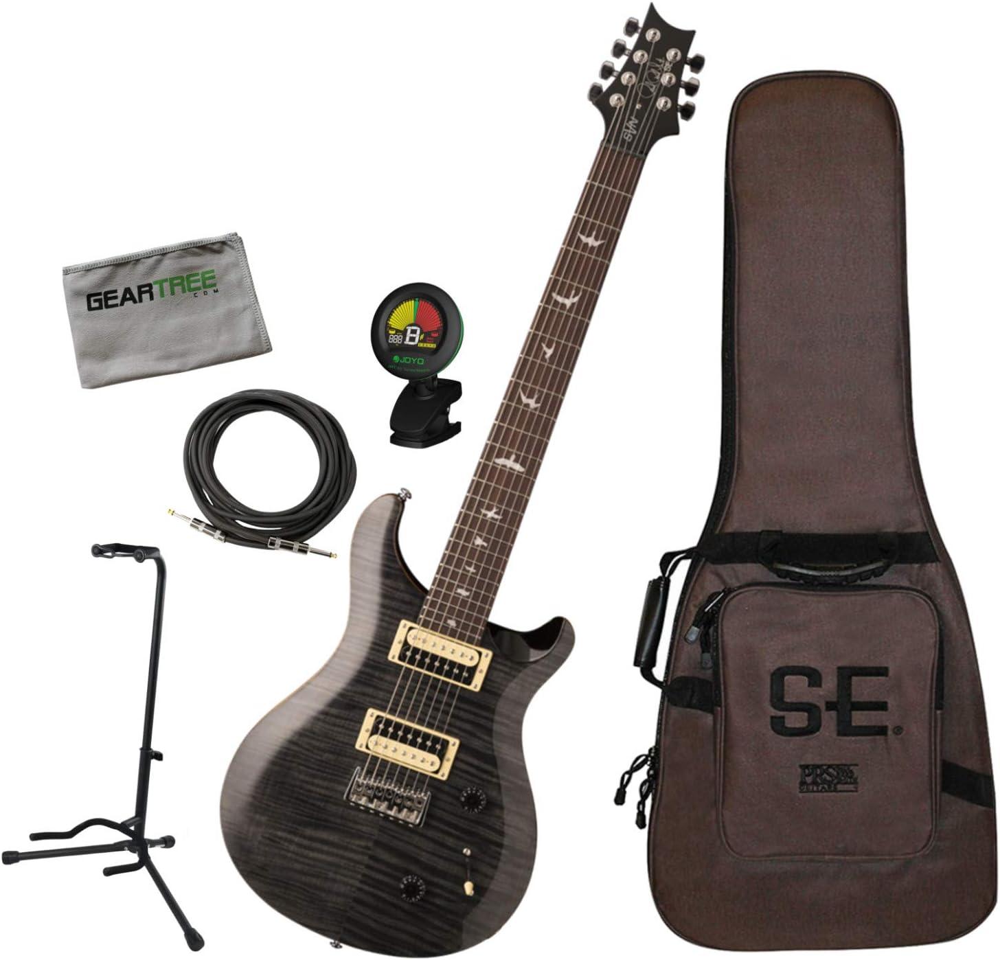 PRS SE SVN Seven - Guitarra eléctrica de 7 cuerdas con bolsa ...