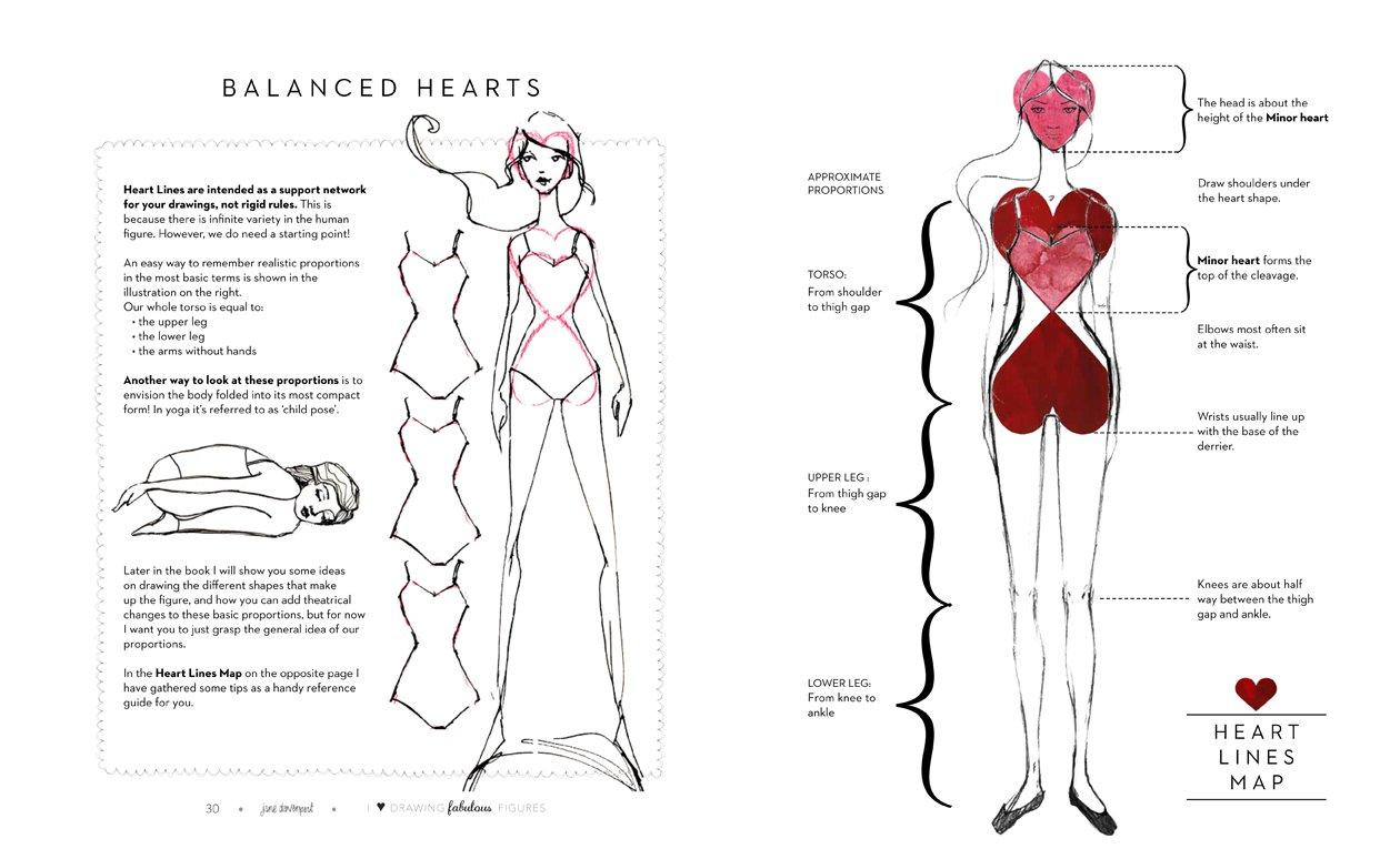 fabulous figures i heart drawing jane davenport 9781942021322