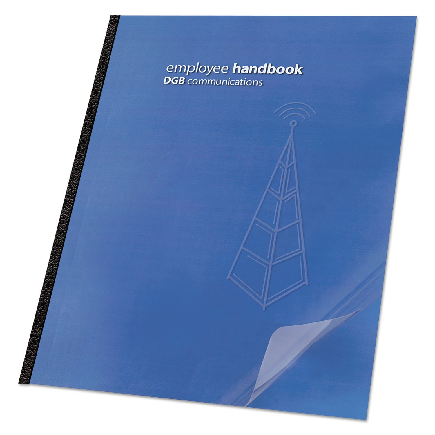 Swingline GBC 2000036 Clear View Presentation Binding System Cover 11-1/4 x 8-3/4 Clear 100/Box