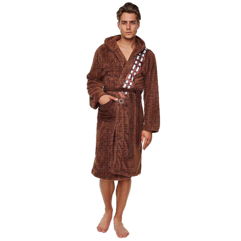 Star Wars Chewbacca Dressing Gown Bathrobe - Chewbacca Size - One ...