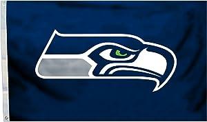NFL SEAHAWKS LOGO 3X5 FLAG