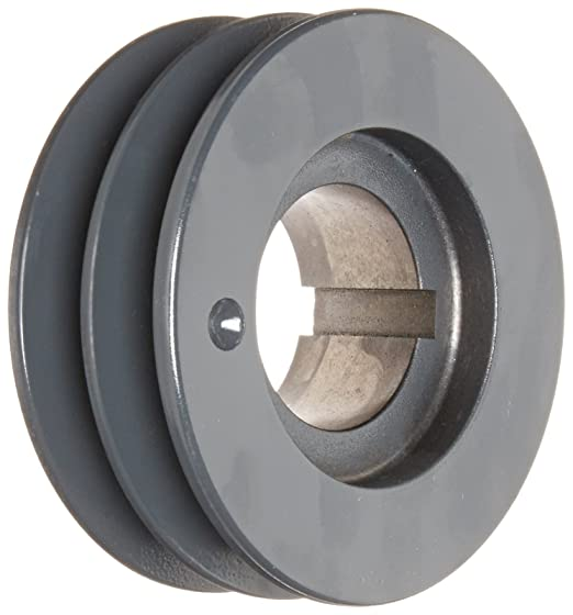 Cast Iron Uses R1 Bushing Browning 5B154R Split Taper Sheave 5 Groove A or B Belt Split Taper Sheave