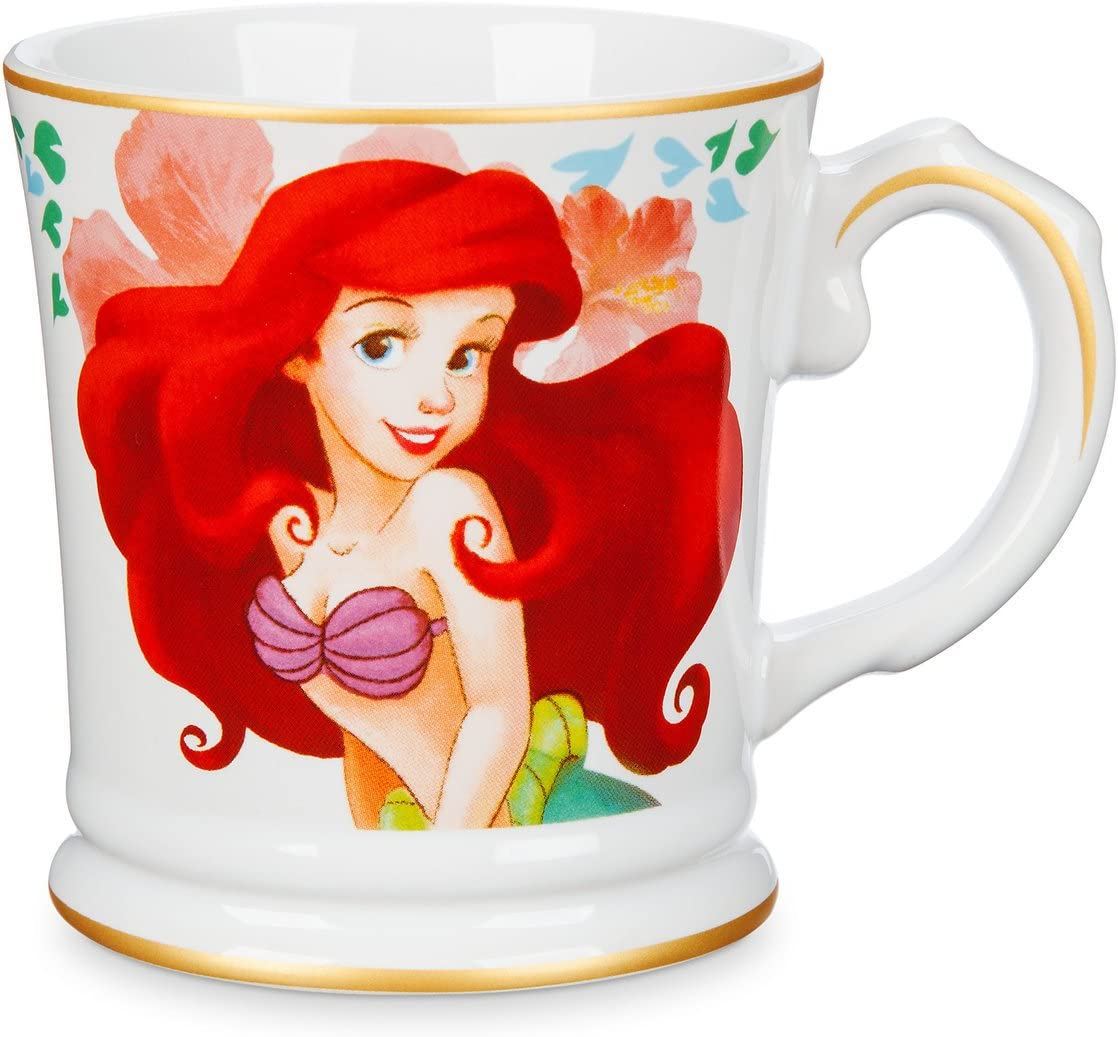 Disney Princess Signature The Little Mermaid Ariel Ceramic Coffee Tea Mug