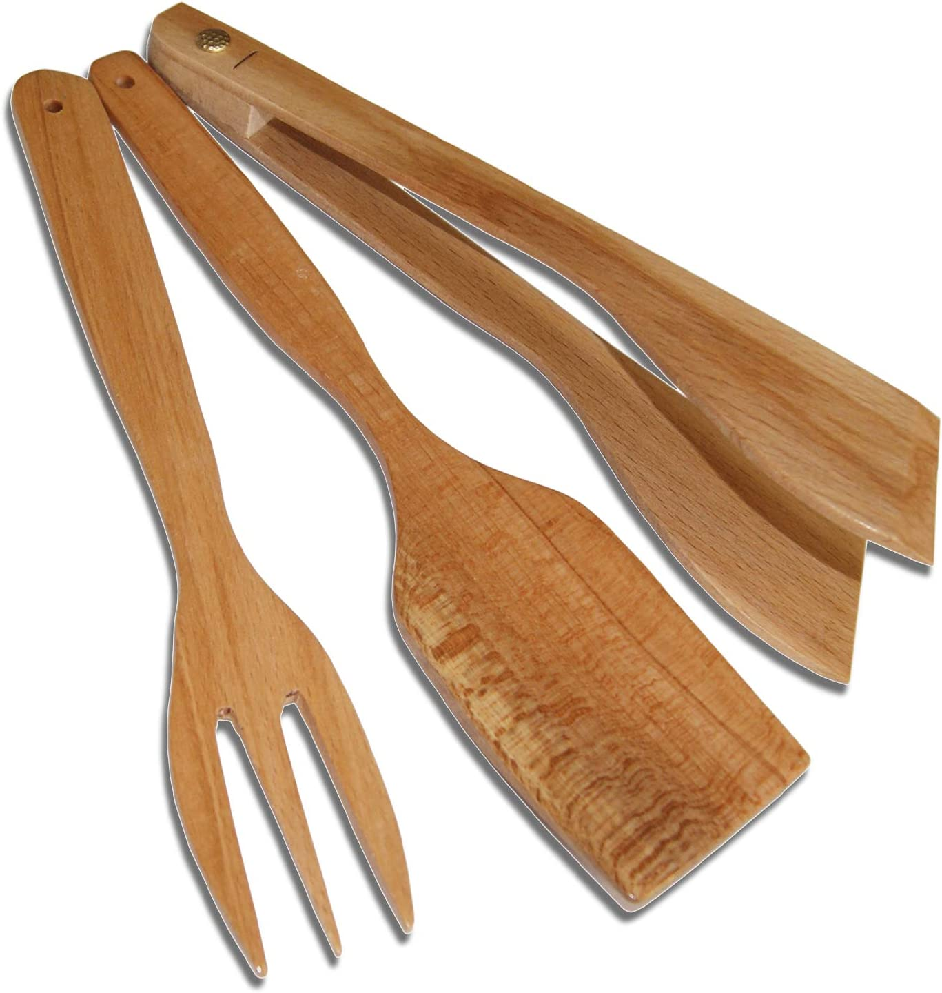 Ash tree kitchen spatula handmade spatula