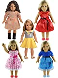 """5PC Lots Doll Clothes for 18"""" Dolls American Girl Dolls"""