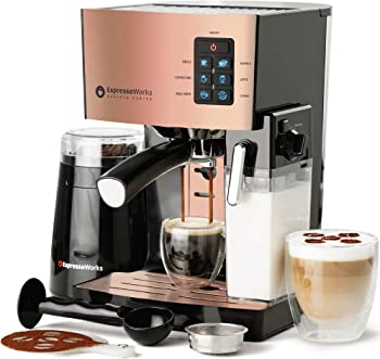 EspressoWorks With Useful Components Commercial Espresso Machine