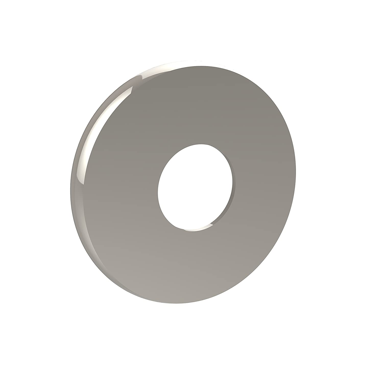 (Polished Nickel) - Allied Brass 1098-PNI Shower Curtain Escutcheon, Polished Nickel B001KMAEAI 光沢ニッケル 光沢ニッケル