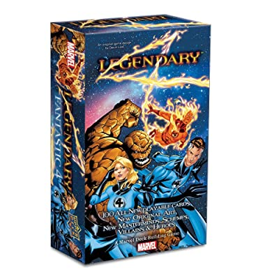 Marvel Legendary Fantastic Four Board Game: Toys & Games